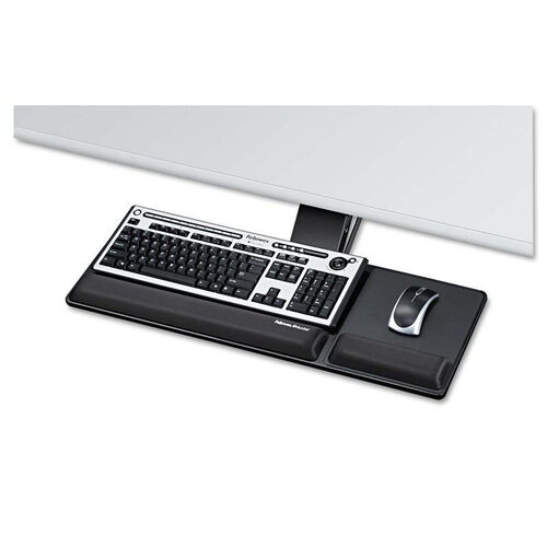 Our Fellowes® Designer Suites Compact Keyboard Tray - 19w x 9-1/2d - Black is on sale now.