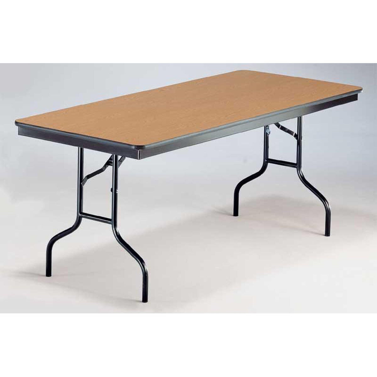 EF Series Long Rectangular Plywood Core Folding Table