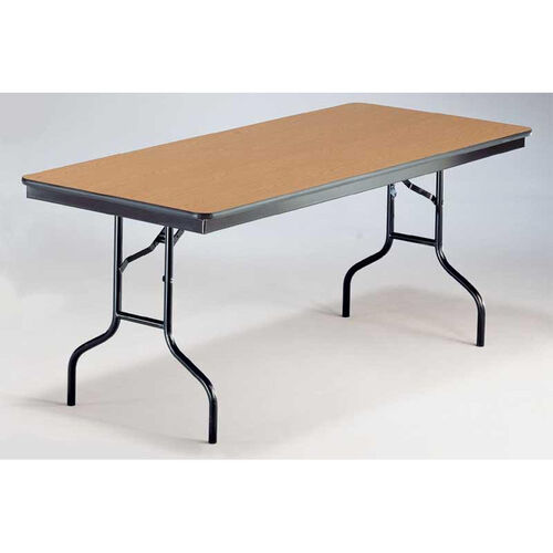Our EF Series Long Rectangular Plywood Core Folding Table - 30
