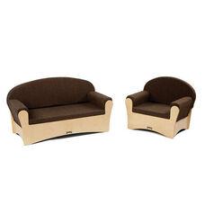 Komfy Sofa Set - Sofa and Chair - 2 Piece Set