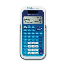 Texas Instruments Scientific Calculator -4 Line -Dual Pwr -3 1/5