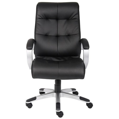 Our Double Plush High Back Executive Chair with Padded Arms - Black is on sale now.