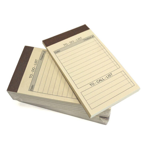 Refill Pack of 10 To Do List Note Pads for Note Jotters