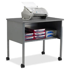 Mayline Group One Shelf Mobile Machine Stand