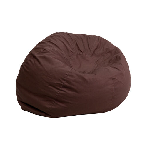 Our Small Solid Brown Kids Bean Bag Chair is on sale now.