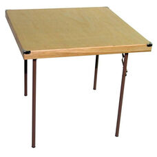 Caterer Elite Series Small Card Table with Non Marring Floor Glides