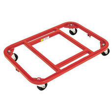 Steel Frame Royal Red Dolly with Vinyl Finish - 16