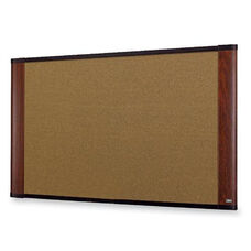 3M Cork Boards - Graphite Blend - Mahogany