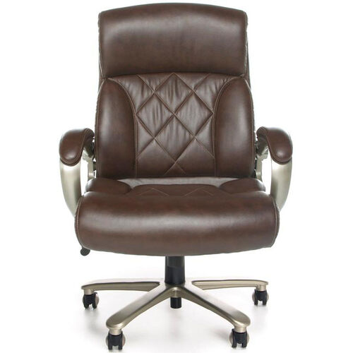 Our Avenger 400 lb Capacity Big & Tall Executive Chair - Brown is on sale now.