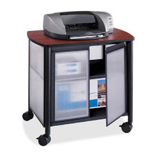 Safco Impromptu Black Deluxe Stand with Doors