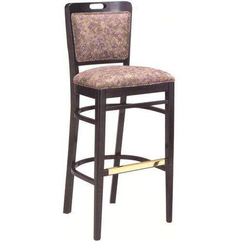 424 Bar Stool w/ Upholstered Back & Seat - Grade 1
