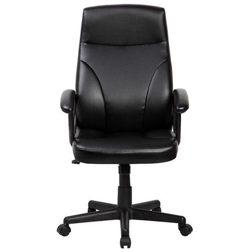 Techni Mobili Medium Back Manager Chair - Black