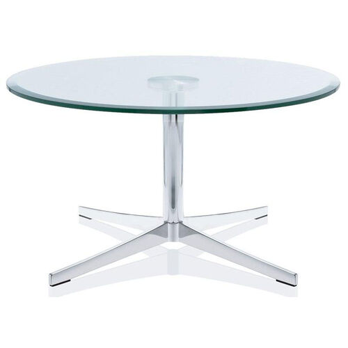Axium Round Tempered Glass Table