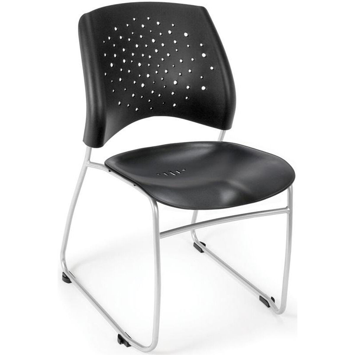 stars plastic stack chair black 325 p blk. Black Bedroom Furniture Sets. Home Design Ideas