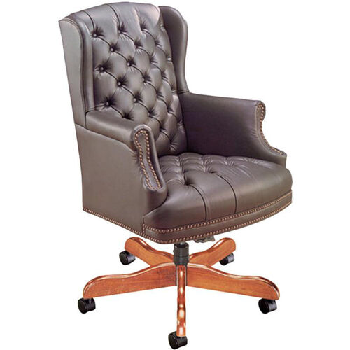 Our Quick Ship Traditional Series Tufted Wing Back Swivel Chair is on sale now.
