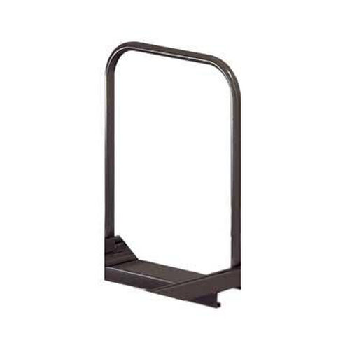 Additional Adjustable Single Level Folding Chair Caddy Support Bar Metal - Black