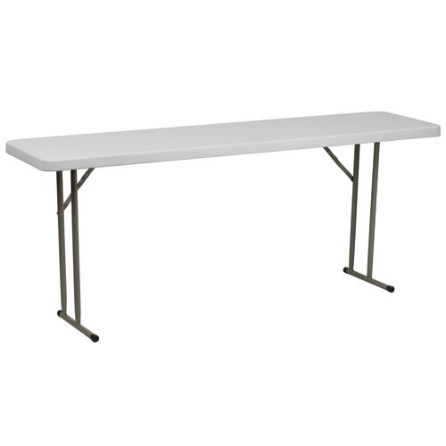 Our 6-Foot Granite White Plastic Folding Training Table is on sale now.