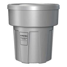 30 Gallon Cobra Flame Retardant Trash Can - Gray