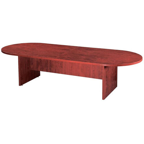 Cherry Racetrack Conference Table with 2-Piece Top