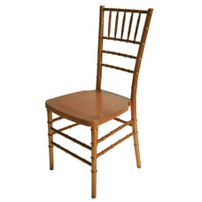 1000 lb. MAX Gold Resin Steel Core Chiavari Chair