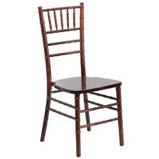 "HERCULES Series Fruitwood Chiavari Chair with <span style=""color:#0000CD;"">Free </span> Cushion"