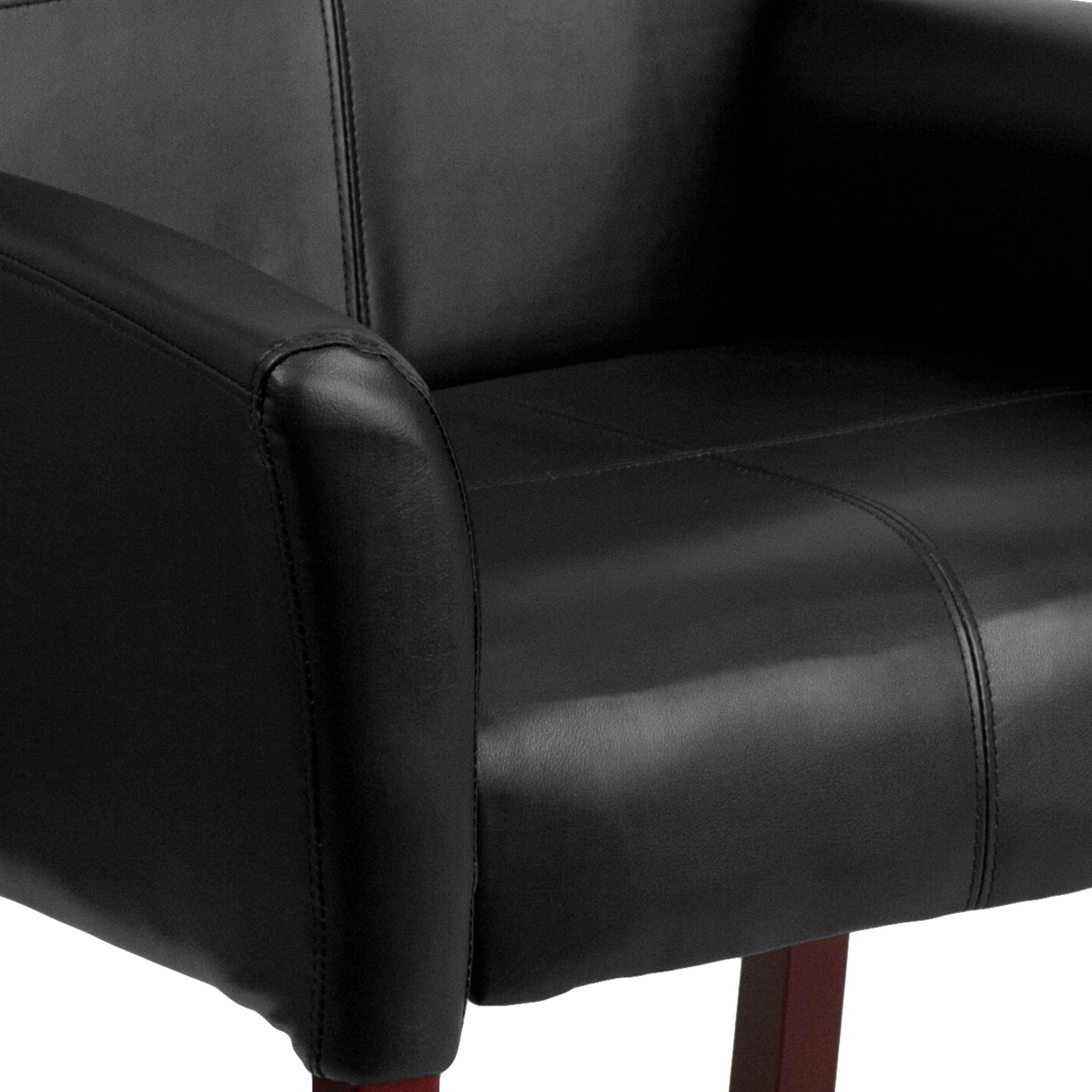 Excellent Flash Furniture Bt 353 Bk Lea Gg Black Leather Executive Pdpeps Interior Chair Design Pdpepsorg