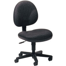 Quick Ship Cheetah Armless Task Chair