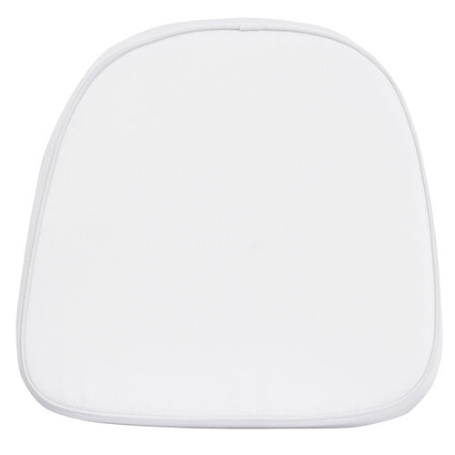 Our Kids Soft White Fabric Chiavari Chair Cushion is on sale now.
