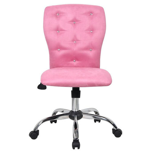 Our Tiffany Contemporary Microfiber Task Chair - Pink is on sale now.