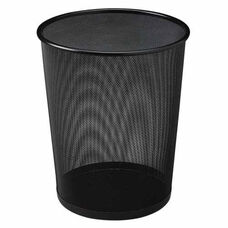 Rubbermaid Commercial Products Steel Mesh Wastebasket - 11.5''W x 11.5''D x 14''H