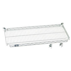 Chrome E-Z Adjust Wire Shelf - 18