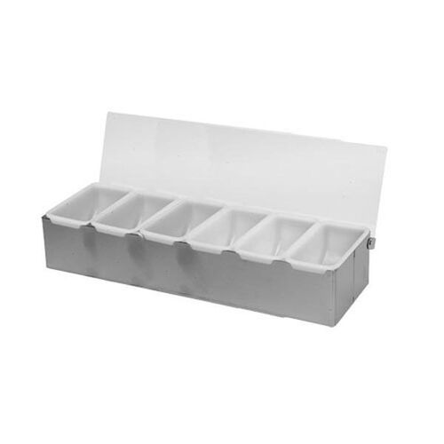 Our Stainless Steel 6 Compartment Condiment Dispenser is on sale now.