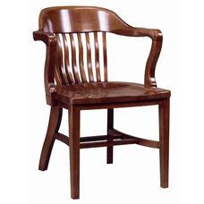 688 Arm Chair w/ Wood Seat