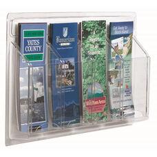 Clear-Vu Pamphlet Display - 4 Pamphlets