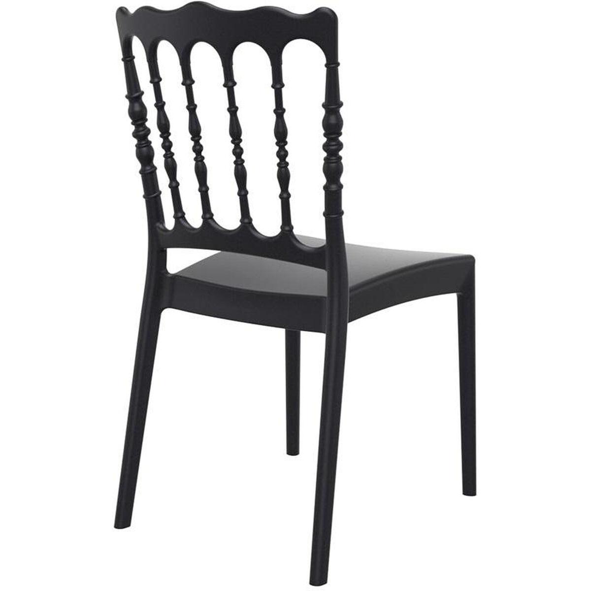 black stacking wedding chair isp044 bla. Black Bedroom Furniture Sets. Home Design Ideas
