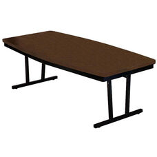 Customizable Boat Shaped Economy Conference Table - 30-36
