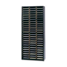 Safco Literature Sorter - 72 Compartments - 32 1/4