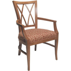 4620 Arm Chair w/ Upholstered Webb Seat - Grade 1