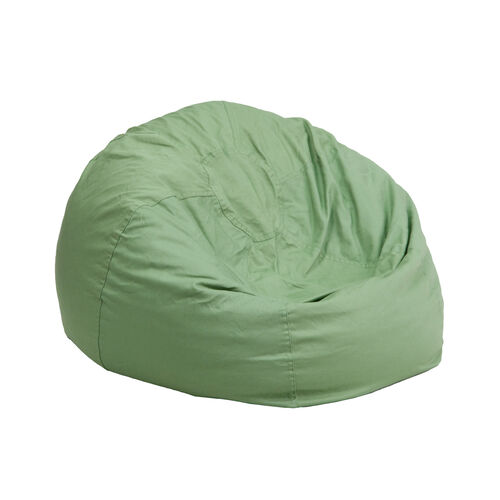 Our Small Solid Green Kids Bean Bag Chair is on sale now.