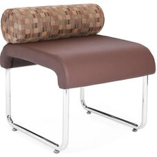 Uno Pillow Back Seat - Copper Back with Brown Seat