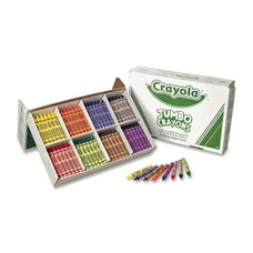 Crayola Jumbo Crayons - Nonto x ic - 200/Box - Assorted