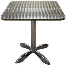 Square Aluminum Indoor Table