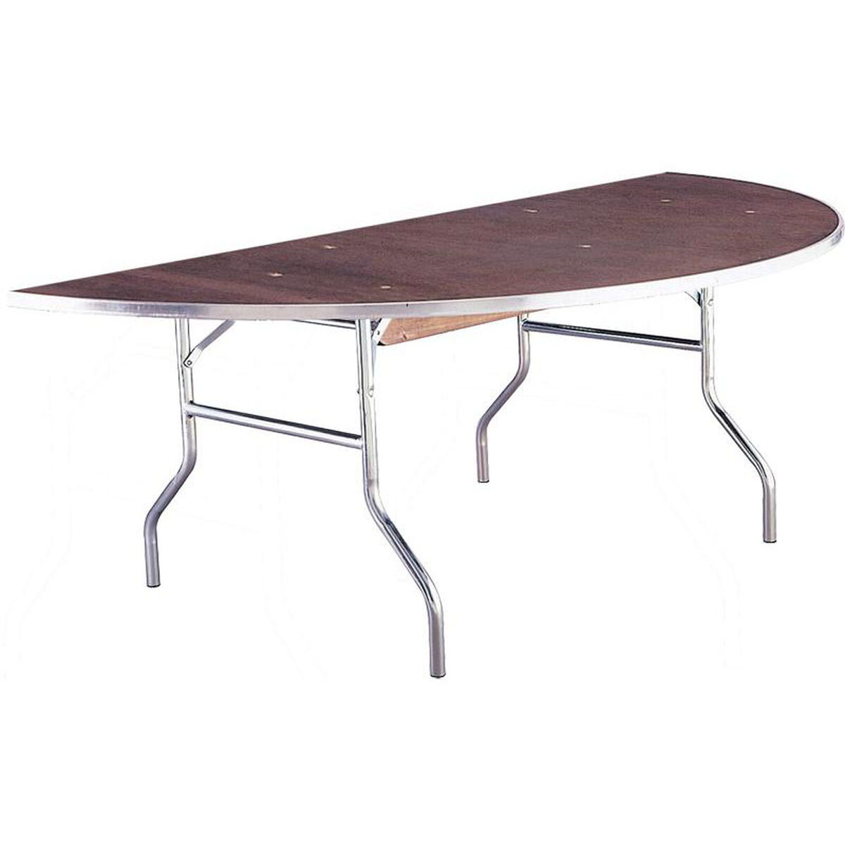 Maywood furniture standard series half round banquet table for Furniture sites