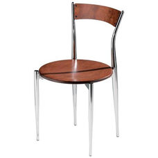 Cafe Twist Maple Chair with Ply Wood Back and Ply Wood Seat
