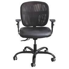Vue™ Intensive Use Mesh Vinyl Task Chair - Black