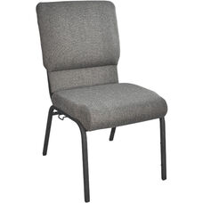 Advantage Fossil Church Chair with Book Rack 18.5 in. Wide