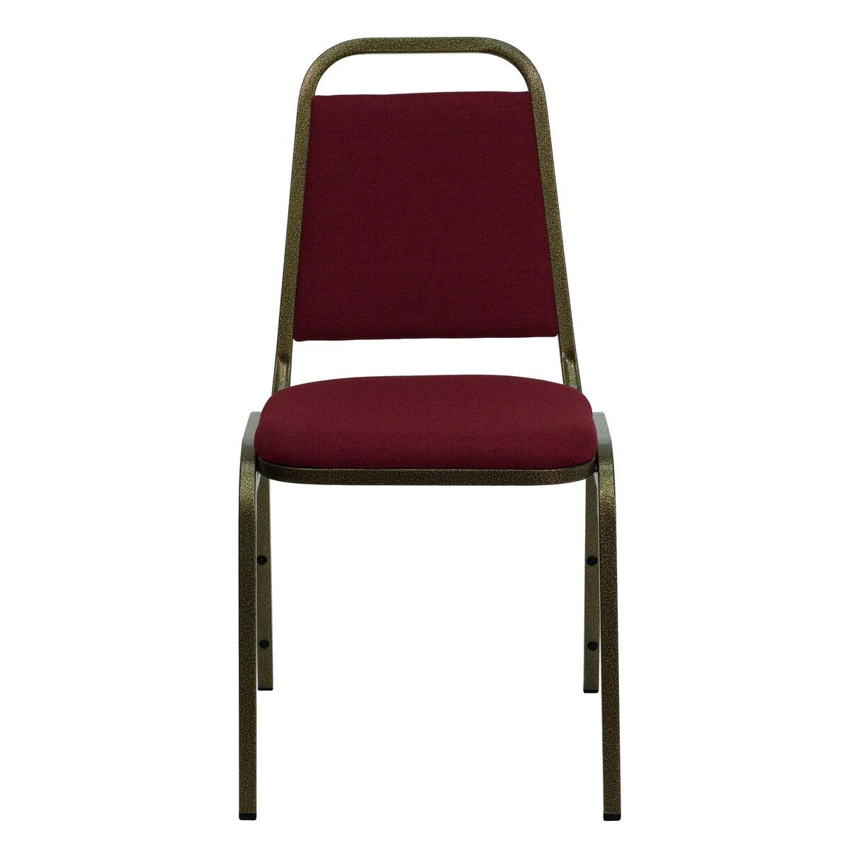 Burgundy Fabric Banquet Chair Fd Bhf 2 By Gg