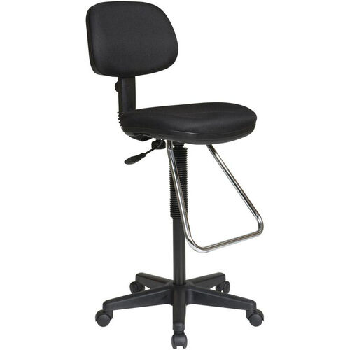 Our Work Smart Ergonomic Molded Foam Seat and Back Drafting Chair with Chrome Teardrop Footrest is on sale now.