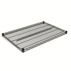 Alera® Industrial Wire Shelving Extra Wire Shelves - 36w x 18d - Silver - 2 Shelves/Carton