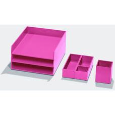 Bright Desk Organizing System Essential Storage Set - Orange